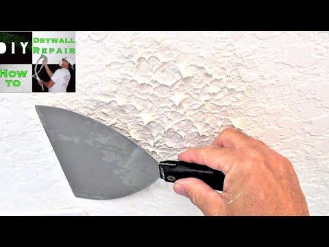 Knockdown texture sponge a great diy knockdown texture matching tool