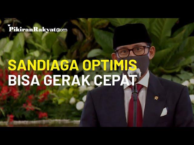 Tak Mau Kecewakan Jokowi, Sandiaga Uno Optimis Bisa Gerak Cepat terhadap Arahan Presiden