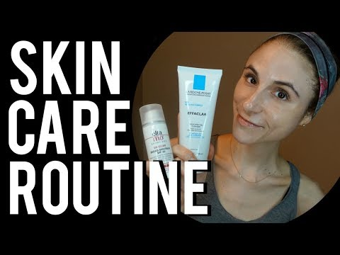 A Dermatologist's Skin Care Routine (AM/PM) with Retin-A | Dr Dray