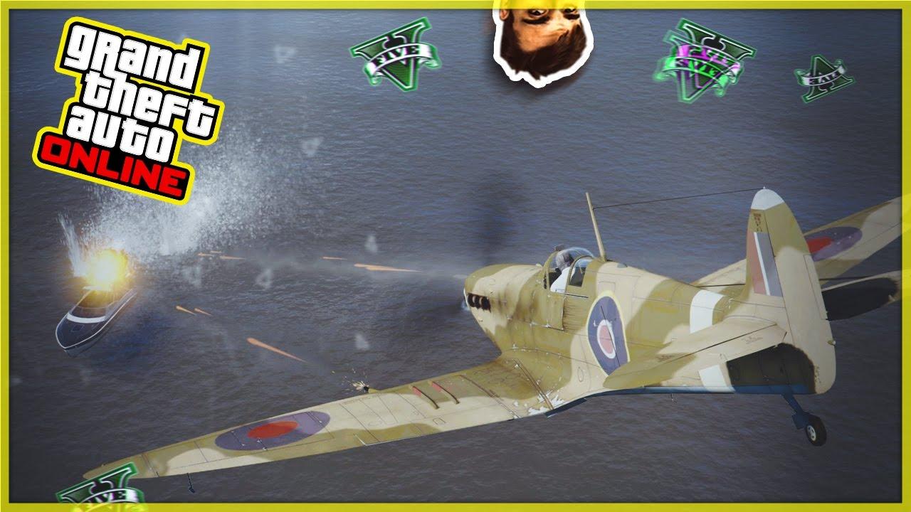 Aereo Da Caccia Gta 5 : Gta v dlc militare personaggi segreti nuovo aereo di