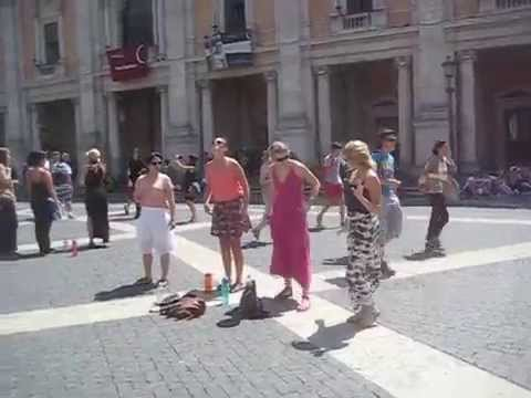 Creating the Capitoline Hill (Rome) improvs