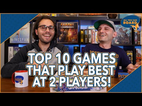 Top 10 Games That Play BEST at 2 PLAYERS