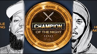 CHAMPION OF THE NIGHT AWARD