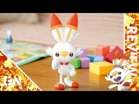 The Perfect Kit For A Younger Newcomer To The Hobby - Poképla Scorbunny   REVIEW