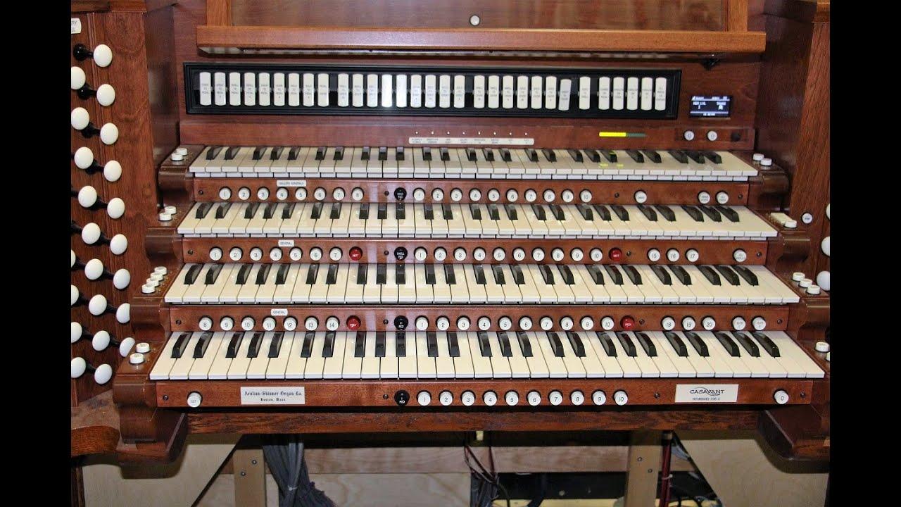 Aeolian-Skinner Opus 408-D Organ Console Rebuilt!