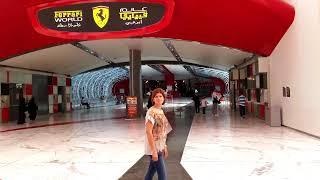 Mi viaje a Abu Dhabi (EUA) entrada al complejo Ferrari World