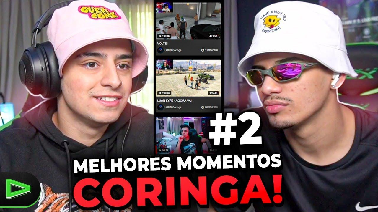 FINALMENTE!!! OS MELHORES MOMENTOS DAS LIVES DO LOUD CORINGA   PARTE 2