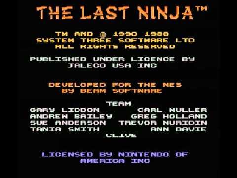 Last Ninja, The (NES) Music - Title Theme