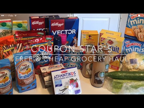 FREE & CHEAP GROCERY HAUL – AUG 19th 2016 – COUPONING IN CANADA