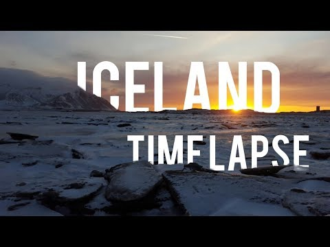 ICELAND - Time Lapse HD1080p