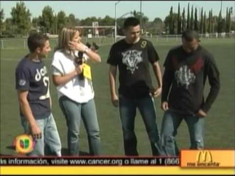Darvi Apparel in Univision's Al Despertar