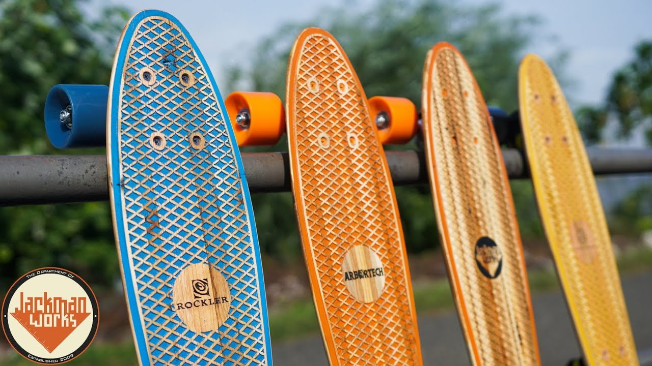 Custom Craft Penny Board Hand Made from Wood