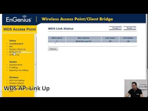 EnGenius WDS modes: Webinar