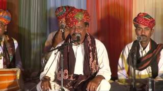 IHC HOLI CELEBRATIONS|Rajasthani folk songs by Bundu Khan Langa & party.26th March 2013