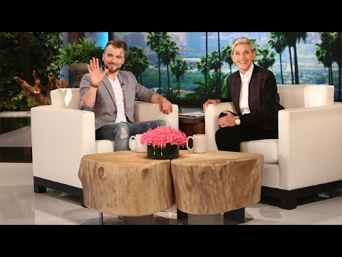 Aydian Dowling Catches Up with Ellen