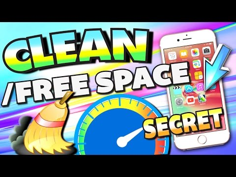 Clean/FREE UP Space With Secret App on iPhone, iPad, and iPod Touch (NO Jailbreak) on iOS 10 - 9