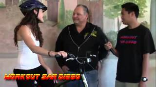 WorkOut San Diego & SouthBay Bicycles w/fitness hosts Paloma Dominguez & Rickey Phatsenhann