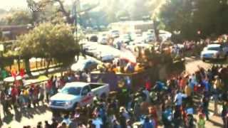 The Joe Cain Day Parade in Mobile, Alabama