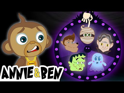 Spin the Mystery Monster Wheel Challenge | Fun Games for Kids | Annie and Ben