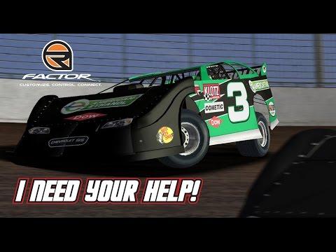 rFactor: I Need Your Help! (Late Model @ LaSalle)