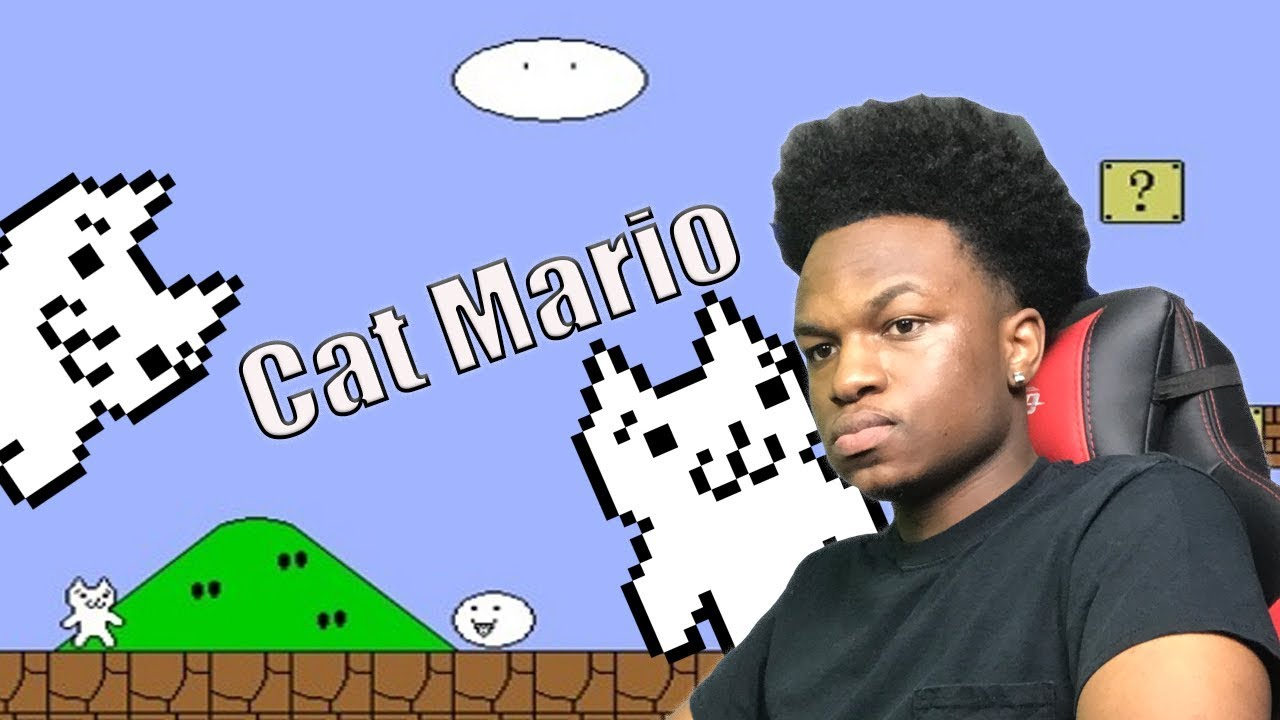 This is the hardest game ever  (Cat Mario)
