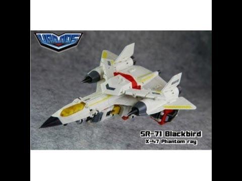 TFC Toys: SR-71 Blackbird & X-47 Phantom Ray