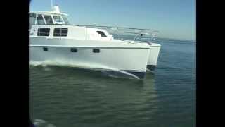 Endeavour Trawler Cat 44 Underway