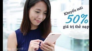 Người dùng vui mừng vì khuyến mại nạp thẻ về lại mức 50%