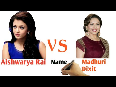 Aishwarya Rai Vs Madhuri Dixit Comparison 2017 | Biography | Lifestyle | Networth | Hit | Flop |
