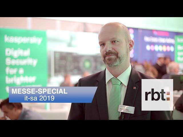 Interview mit Peter Neumeier, Kaspersky Labs GmbH // it-sa 2019