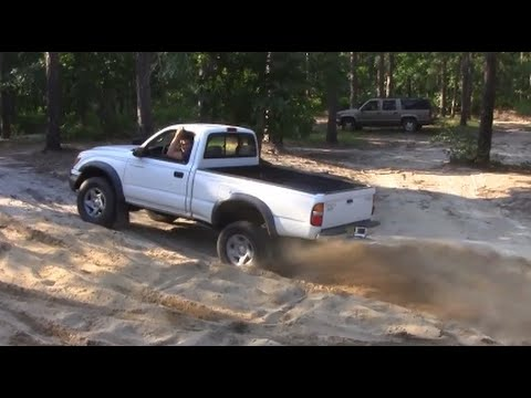 2wd TOYOTA STRUGGLING IN SAND