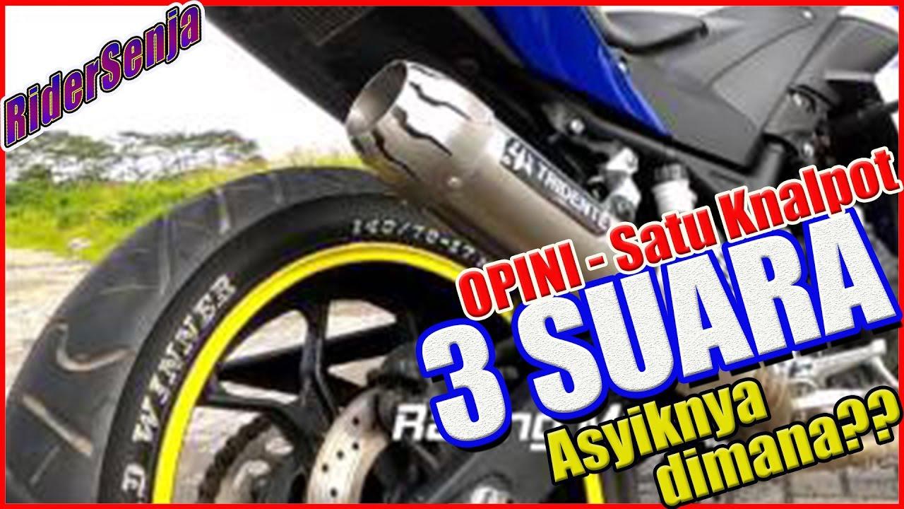 Knalpot 3 Suara Apa Sih Enaknya Opini Motovlog Indonesia Prospeed Mf Series Honda Sonic150r