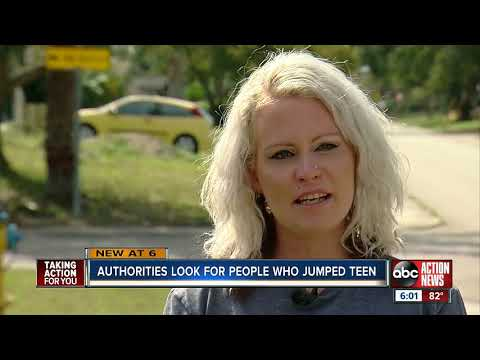 VIDEO: Unknown suspects beat, rob teen walking home from Gulf High School in Pasco County