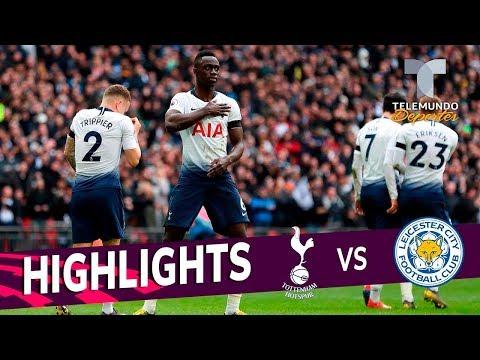 Tottenham vs. Leicester City: 3-1 Goals & Highlights   Premier League   Telemundo Deportes