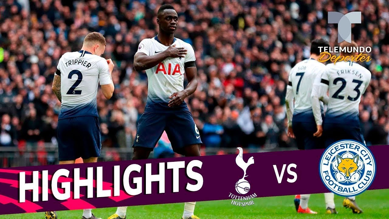 Tottenham Vs Leicester City 3 1 Goals Highlights