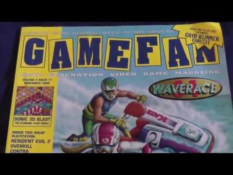 1996 GameFan Magazine Retro Video Game Nostalgia
