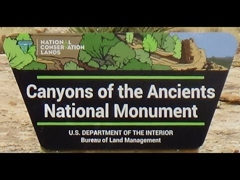 Canyons of the Ancients National Park Cortez, Colorado Ancestral Pueblo Anasazi archaeological