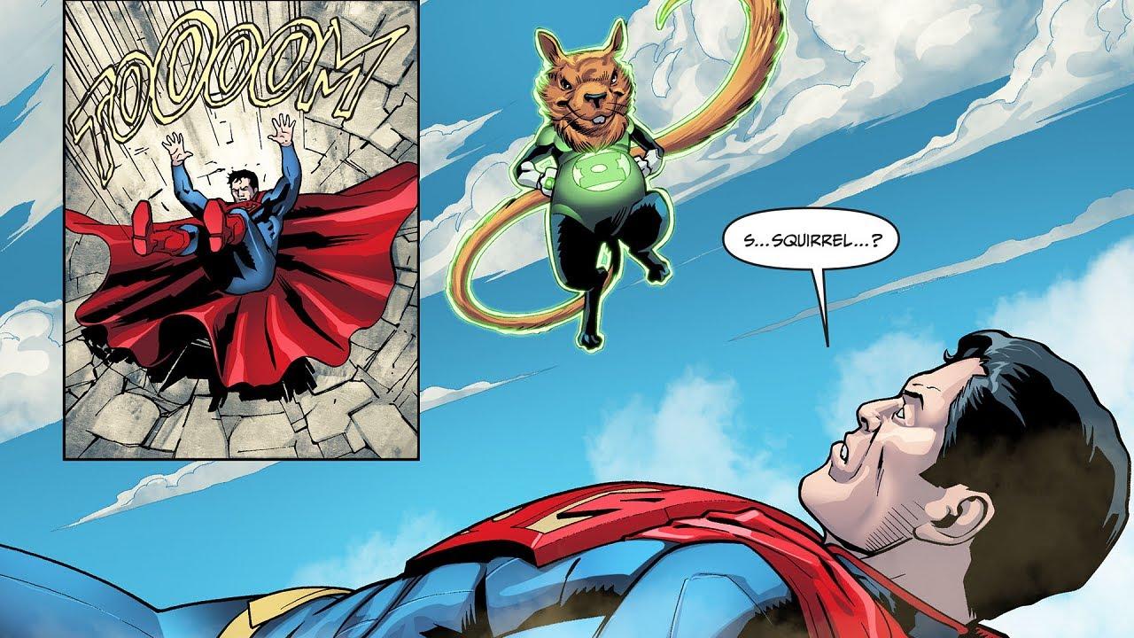 Download La ARDILLA LINTERNA que VENCIÓ a SUPERMAN en injustice #shorts #injustice