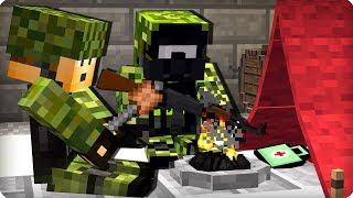 Нашли убежище военных [ЧАСТЬ 51] Зомби апокалипсис в майнкрафт! - (Minecraft - Сериал)