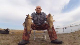 Рыбалка на карася на донки на пенопласт Снасть Удар пружина