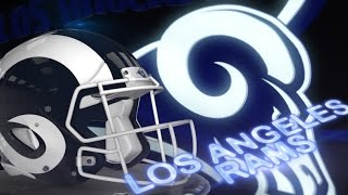 Los Angeles Rams Unveil New Helmet With White Horns