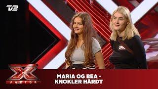 Maria og Bea synger 'Knokler hårdt' - Gilli (Audition)   X Factor 2019   TV 2