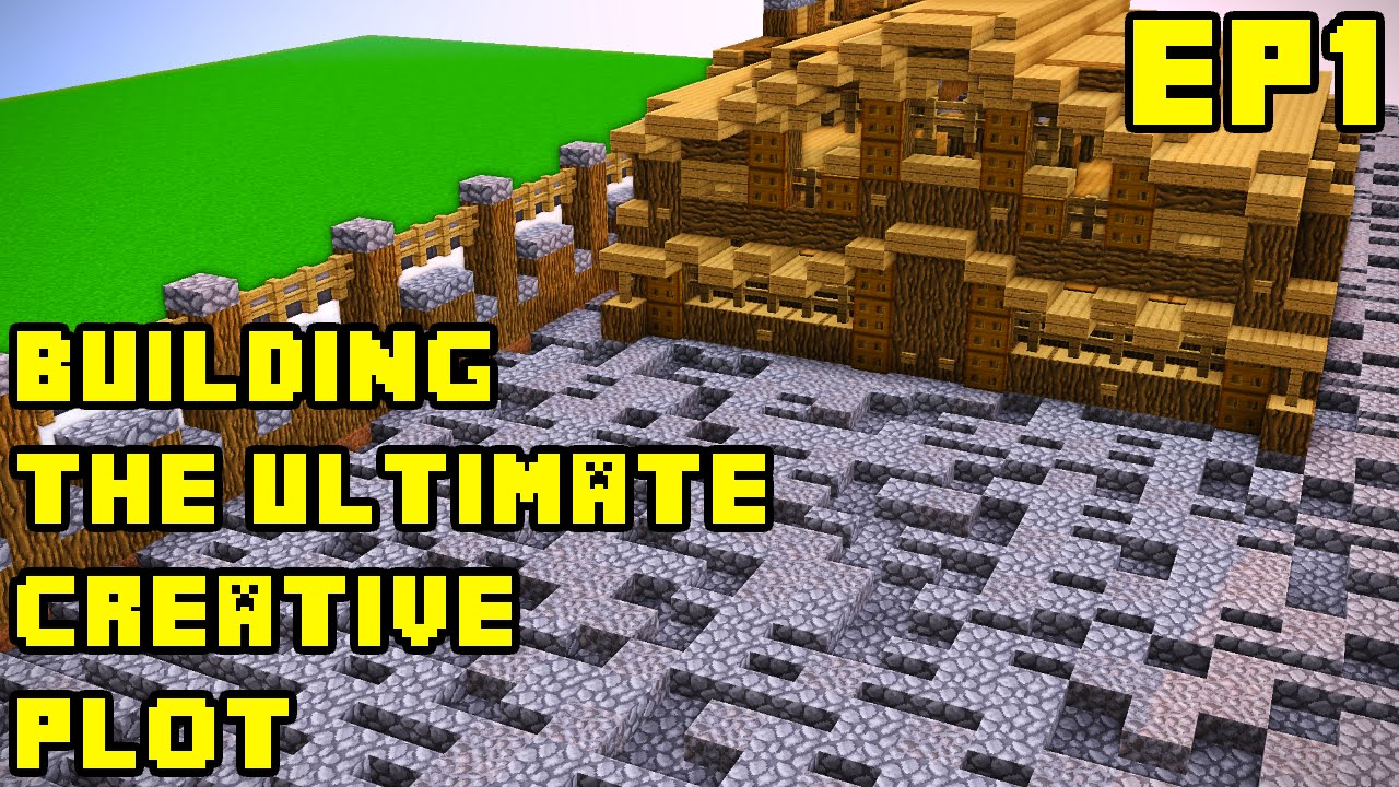 Minecraft: Creative Server Ultimate Plot Build EP1 Xbox/PE/PC/PS3/PS4