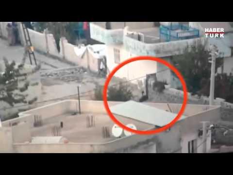 PKK'lı Terörist Böyle Vuruldu ...