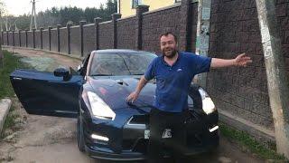Заминированный Тапок - Интервью С Димоном + Прокатил Его На Nissan Gt-R!