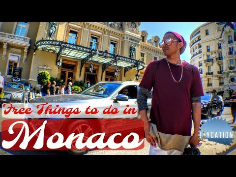 FREE THINGS TO DO IN MONACO | Setting up for the Grand Prix