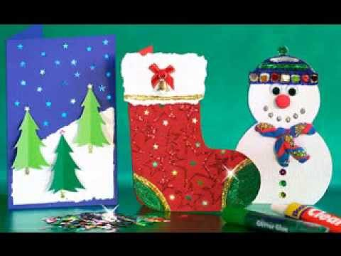 Christmas arts and crafts ideas youtube for Youtube art and craft