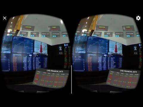VR Control Rooms Stock Exchange