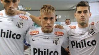 Bastidores Santos 3 x 1 São Paulo