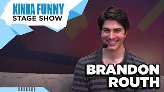 Brandon Routh of Arrow and Superman Returns - Kinda Funny Stage Show E3 2015